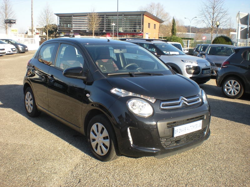 Citroen C1 VTI 72 FEEL 5P Essence NOIR Occasion à vendre