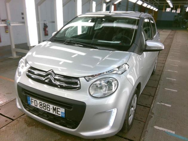 Citroen C1 VTI 72 FEEL 5P Essence GRIS C Occasion à vendre