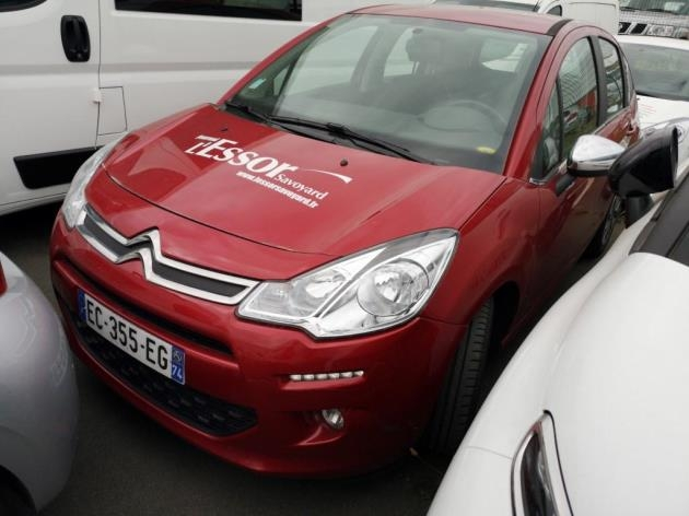 Citroen C3 BLUEHDI 75 CONFORT BUSINESS S&S 79G Diesel ROUGE  Occasion à vendre