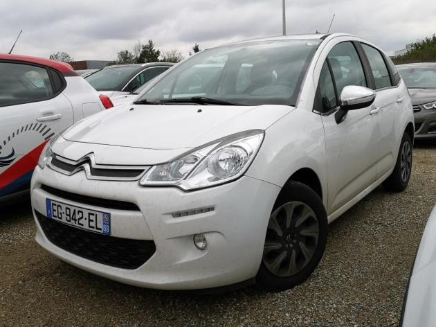 Citroen C3 BLUEHDI 75 CONFORT BUSINESS S&S 79G Diesel BLANC Occasion à vendre