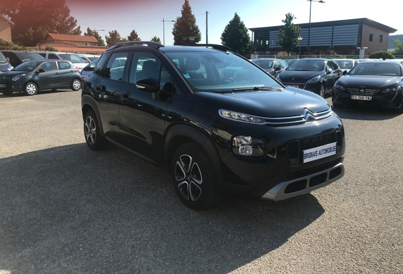 Citroen C3 AIRCROSS PURETECH 110CH S&S FEEL E6.D-TEMP Essence NOIR Occasion à vendre