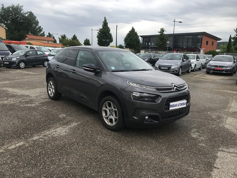 Citroen C4 CACTUS PURETECH 110CH S&S FEEL BUSINESS Essence GRIS F Occasion à vendre