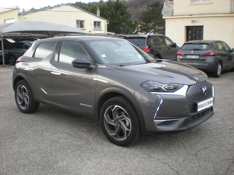 Ds DS 3 CROSSBACK PURETECH 130CH GRAND CHIC AUTOMATIQUE Essence GRIS F Occasion à vendre
