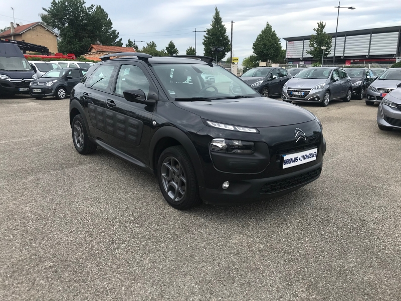 Citroen C4 CACTUS BLUEHDI 100 FEEL BUSINESS Diesel NOIR Occasion à vendre