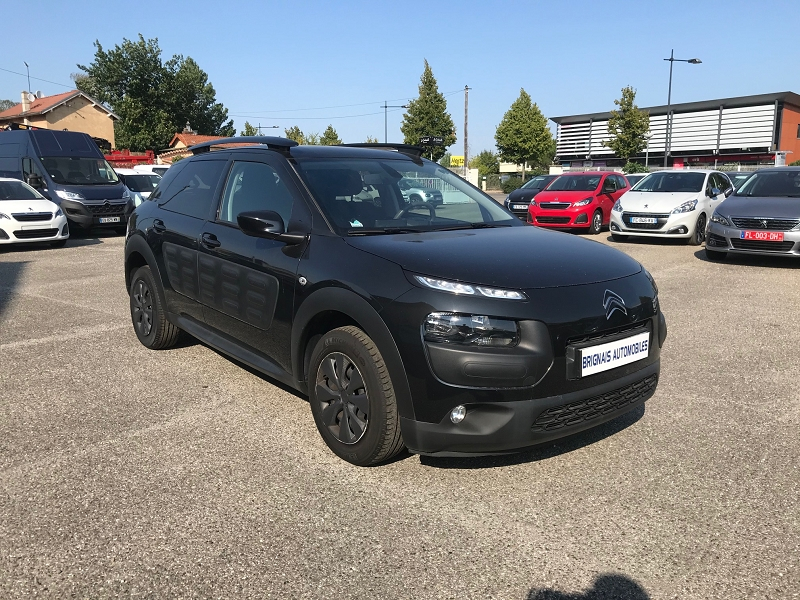 Citroen C4 CACTUS BLUEHDI 100 FEEL BUSINESS S&S 82G Diesel NOIR Occasion à vendre