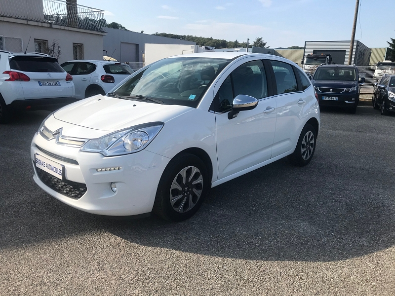 Photo 3 de l'offre de CITROEN C3 BLUEHDI 75 CONFORT BUSINESS S&S 79G à 9400€ chez Brignais automobiles
